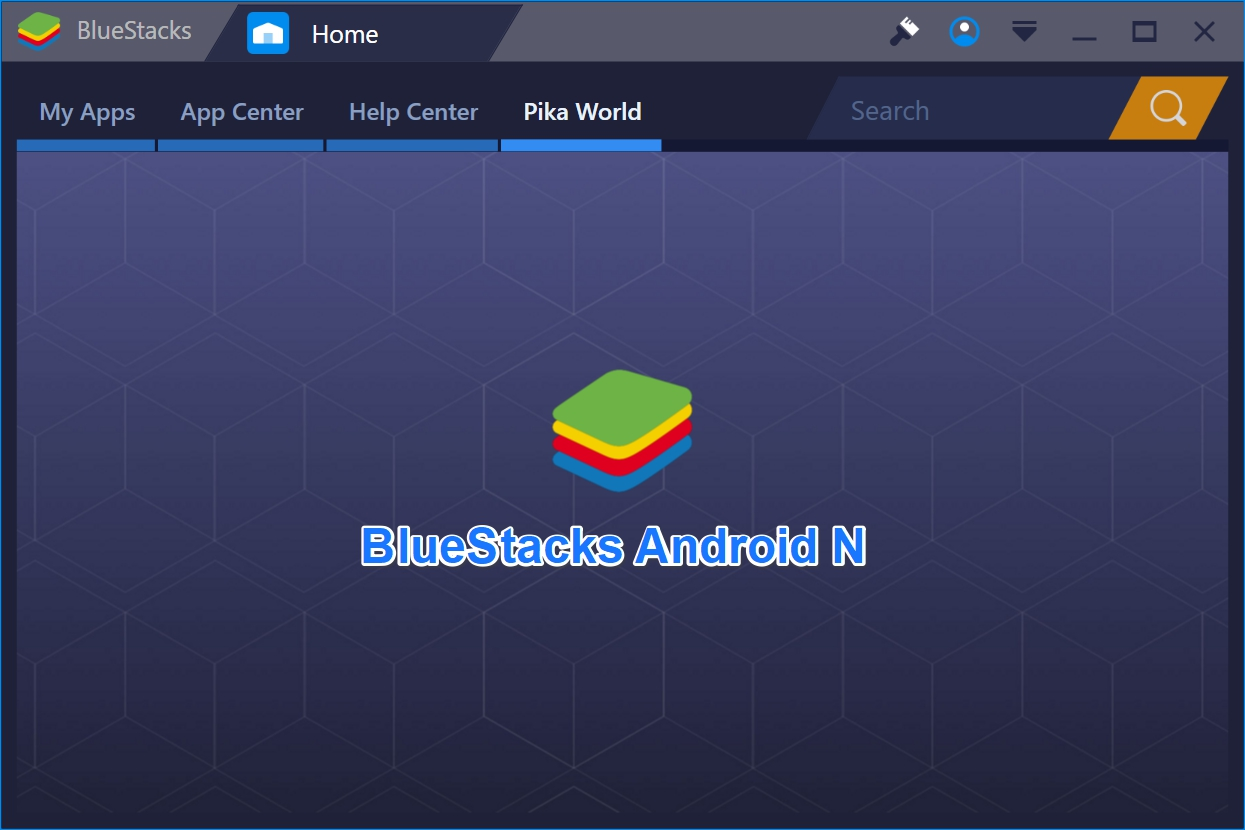 Download BlueStacks N Offline Installer loaded with Android
