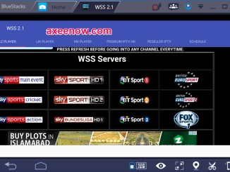 World Sports Stream WSS for PC Windows 10