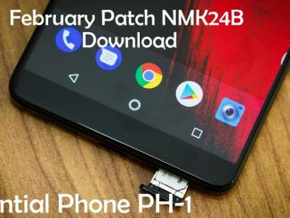 Essential Phone PH-1 NMK24B update