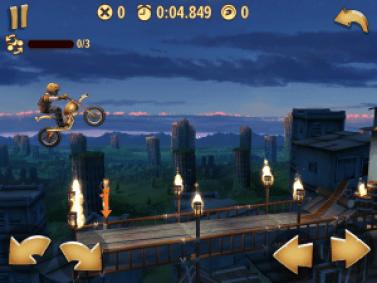 Trials Frontier Gameplay