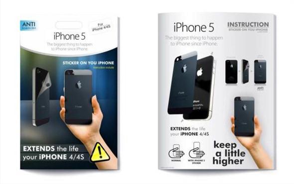 iPhone 4s Sticker iPhone 5