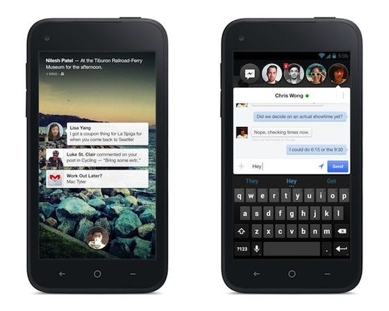 HTC First, HTC Facebook Phone