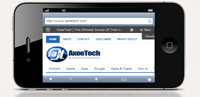 Axeetech, Axeetech iPhone