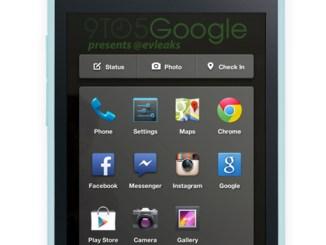 facebook phone UI, New facebook UI