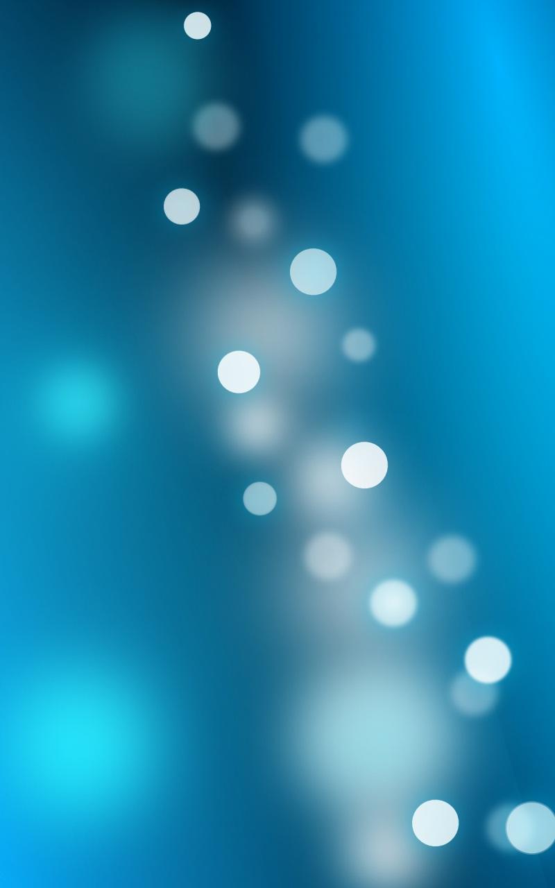 Blue Art Abstract Nexus 7 Wallpaper