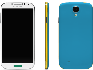 Galaxy S4 customized, galaxy S4 colors, galaxy S4 colorware, colorware galaxy s4 (1)