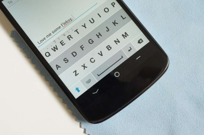 Download Fleksy one of the best android phone Keyboards with