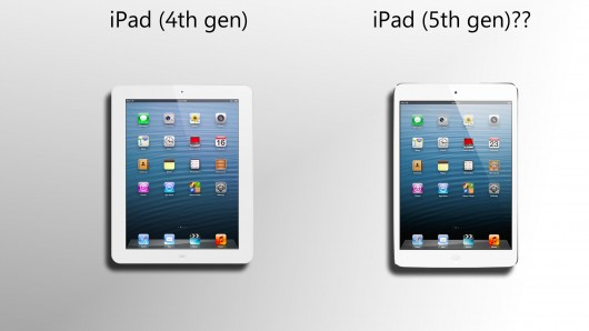 iPad 5, new iPad 5