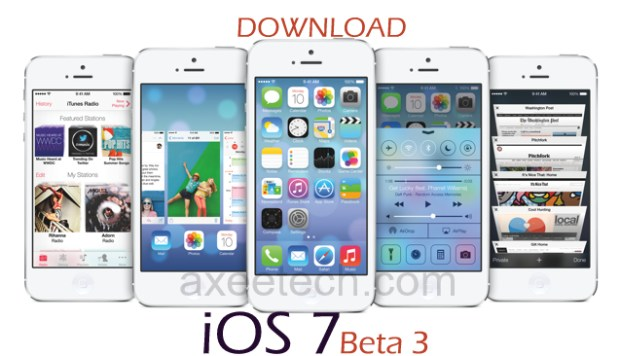 Download Full and Free iOS7 Beta 3 firmware IPSW [direct