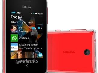 Nokia Asha 500 Leaked