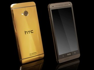 HTC One Gold Edition by Gold genie