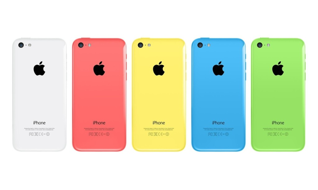 iPhone 5C, Color
