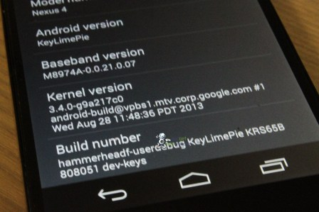 Android 4.4 KitKat Screenshots