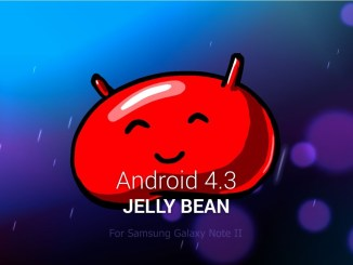 Android 4.3 Jelly Bean Update For Samsung Galaxy Note II