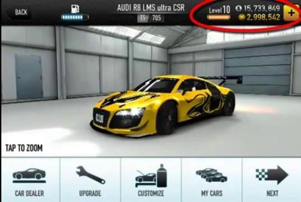 CSR_Car_Racing_hack