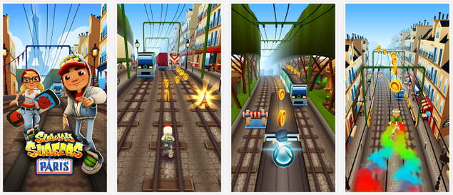 Subway Surfers Paris July 2014