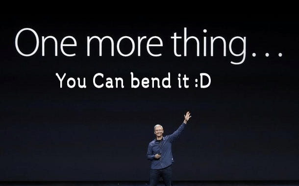 The iPhone 6 bending or not