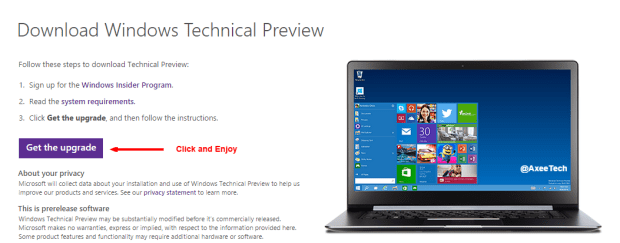 Download Windows Technical Preview   Microsoft Windows