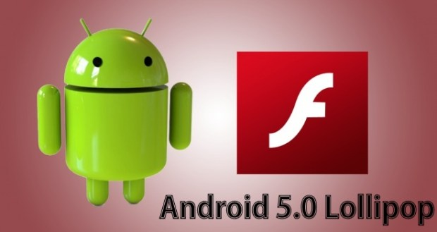 Flash Player For Android 5.0 Lollipop