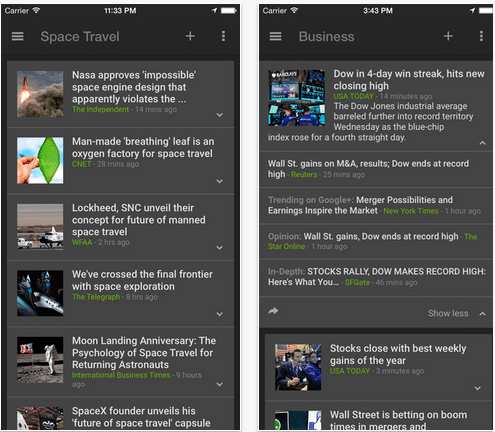 Google News Weather on the App Store on iTunes