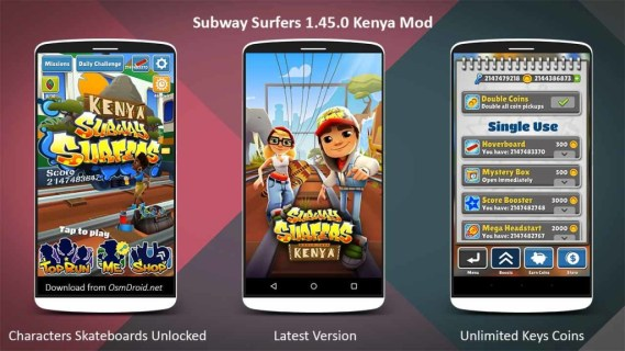 Subway-Surfers-1.45.0-apk-Kenya-Mod-Unlimited-Keys-Coins-Unlocked