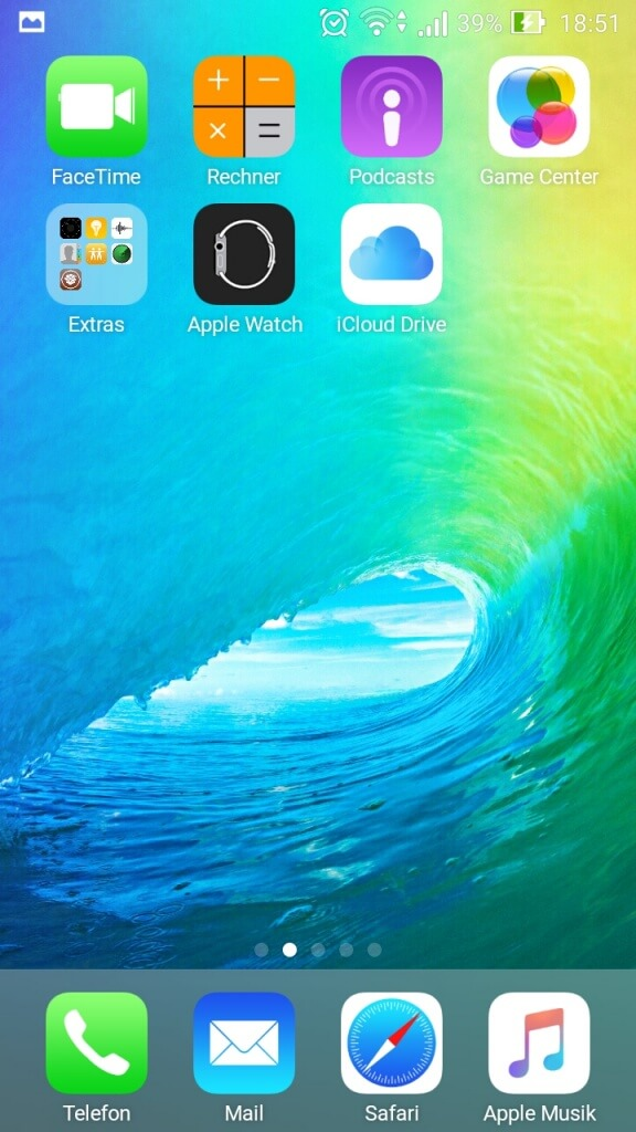 iOS 9 Theme for Android (2)