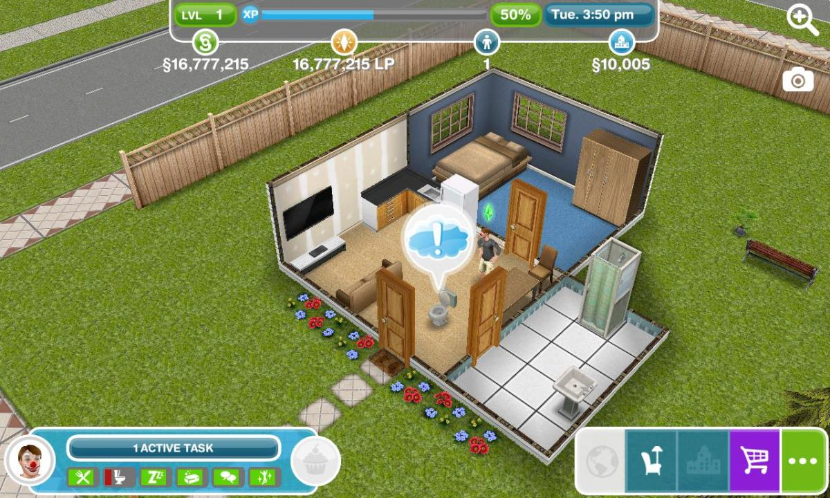 The Sims FreePlay 5.22.2 Mod Apk with unlimited simoleons