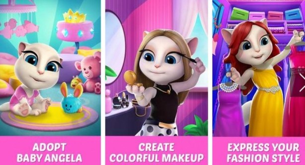 My Talking Angela APK Download Free Casual game for Android APKPure.com