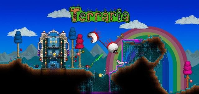 Terraria v1 2 11585 Mod Apk (Full/Invincible/ Free Crafting