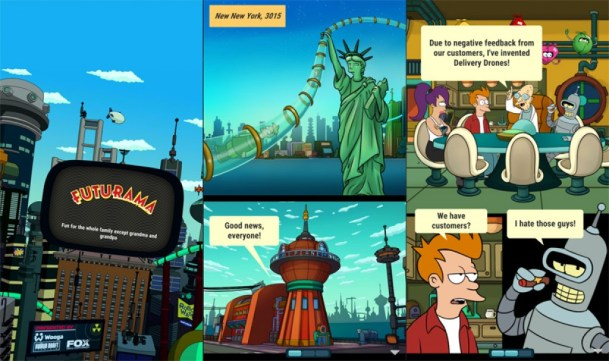 El-nuevo-juego-oficial-de-Futurama-para-Android