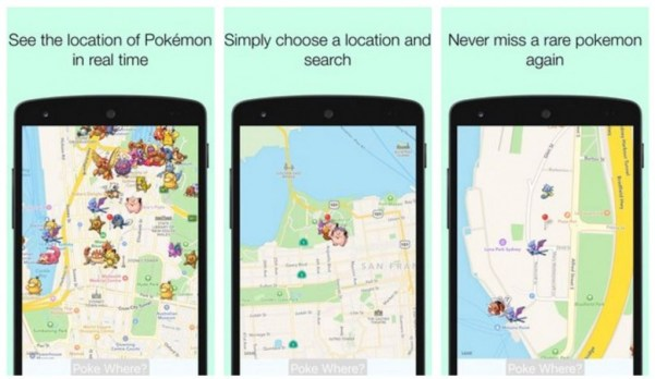 PokeWhere - Realtime Pokeradar APK