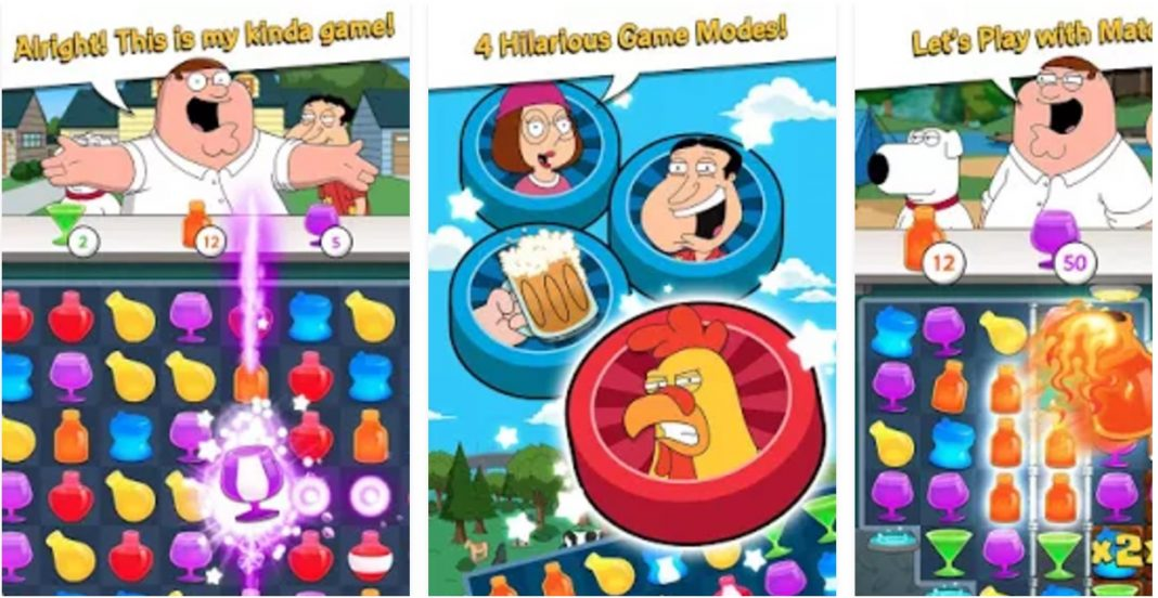 Family Guy Freakin Mobile Game cheats hack mod