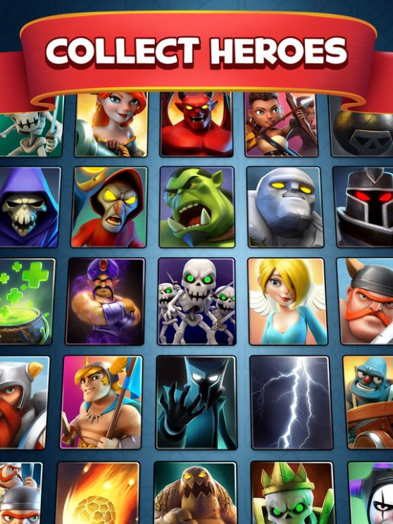 Castle Crush free strategy card games Mod apk
