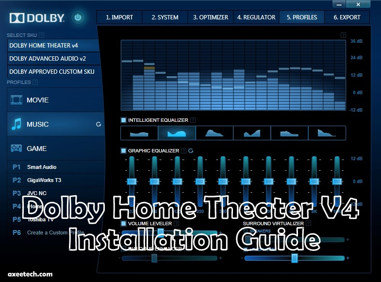 Dolby-Home-Theater-V4-Installation