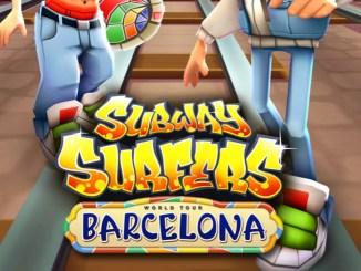 Subway Surfers Barcelona Mod apk hack 1.7.6.0
