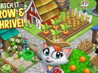 Kitty City: Help Cute Cats Build & Harvest Crops mod apk