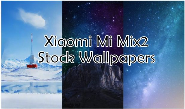 Mi Mix2 Stock Wallpapers