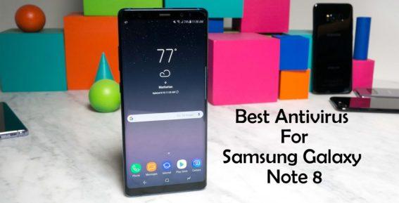 Best Antivirus for Samsung Galaxy Note 8