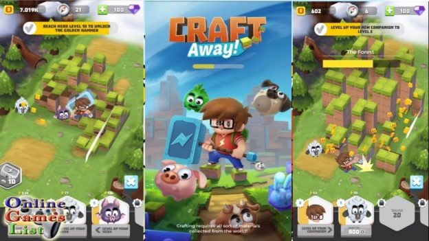 Craft Away Idle Mining Mod Apk