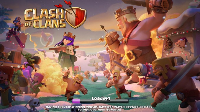 Clash of Clans 9.343.3 mod apk hack