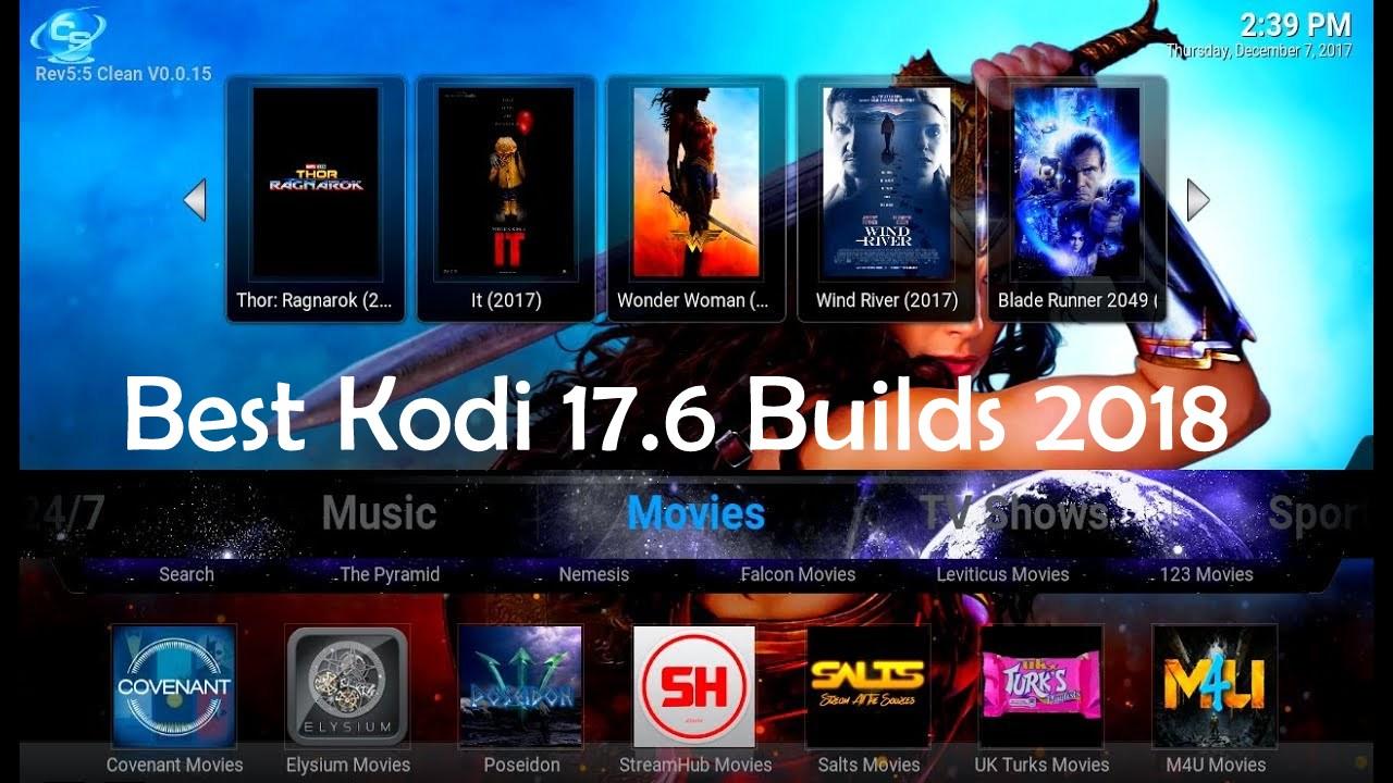15 Best Kodi 17 6 Krypton Builds April 2019  | AxeeTech