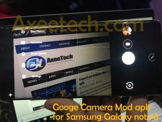 Google Pixel 2 Xl Camera Mod apk for Note 8