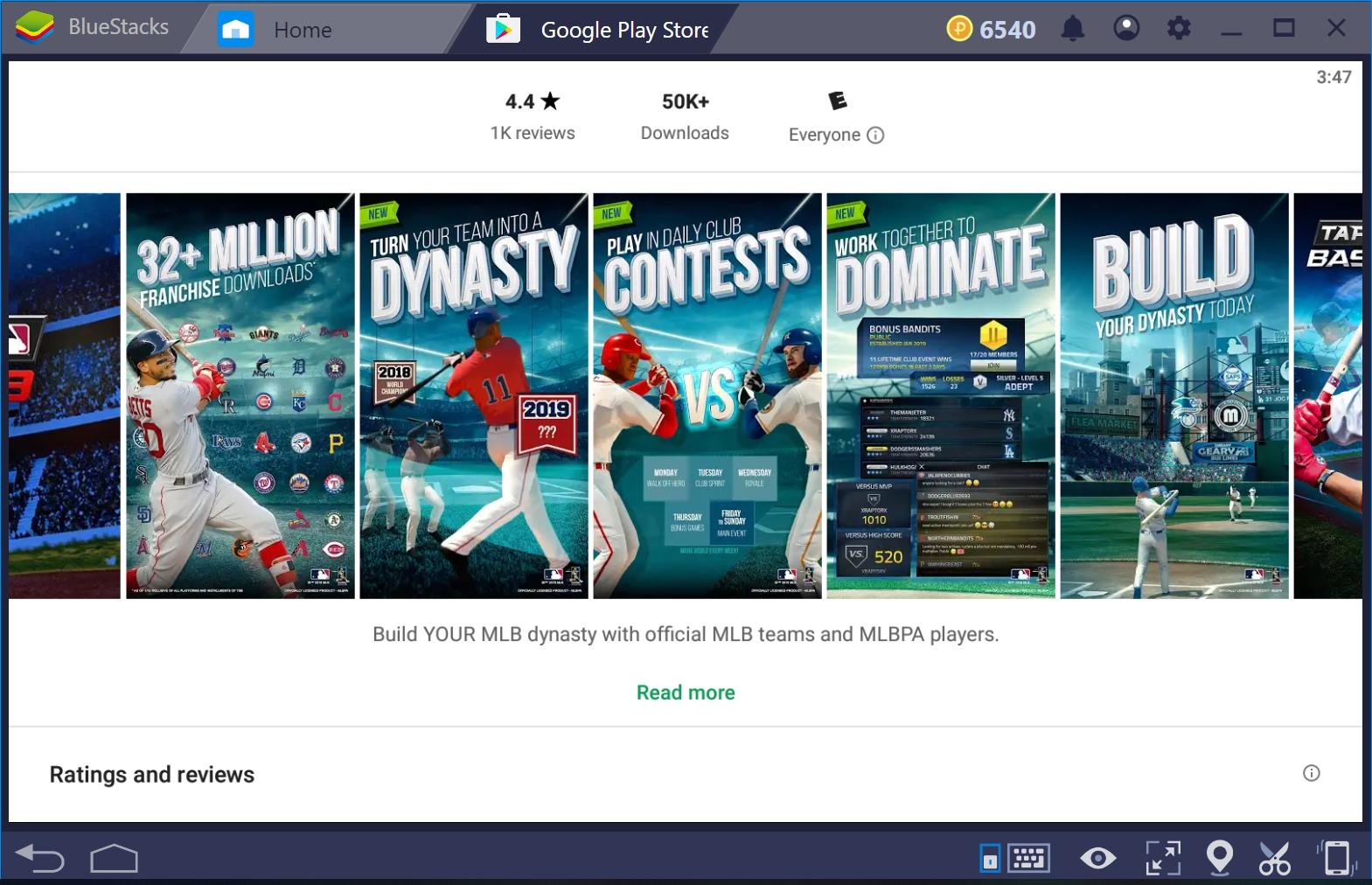 MLB Tap Sports Baseball 2019 for PC Windows 10    AxeeTech