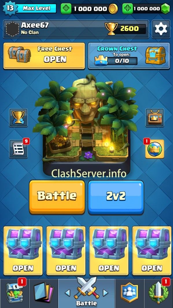 Clash Royale Private Server April 2019 CR 2.7.1 Mod apk