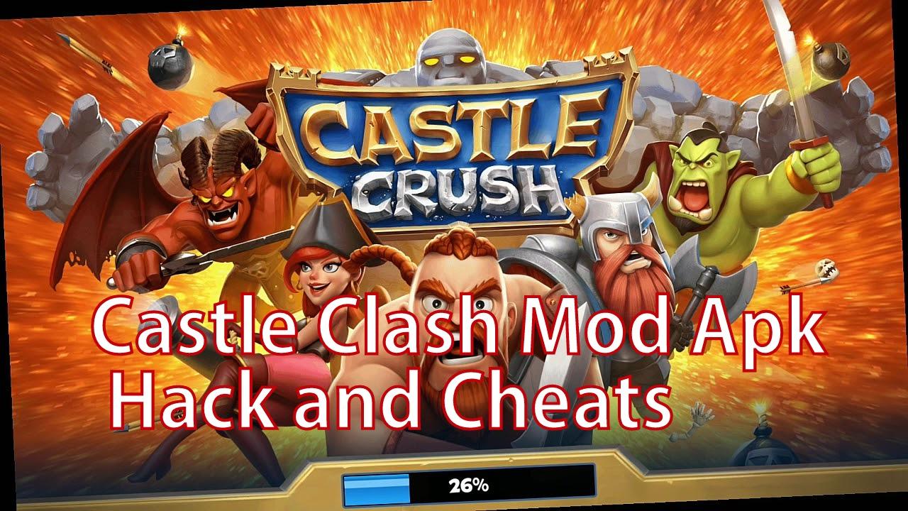 castle crush mod apk unlimited gems