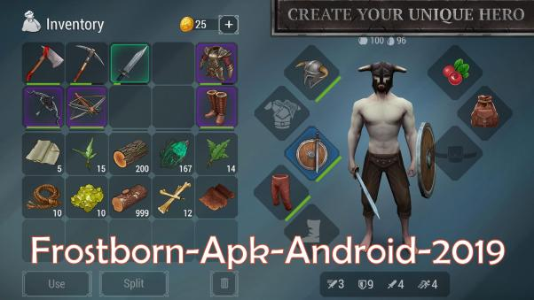 Frostborn Apk for Android 2019