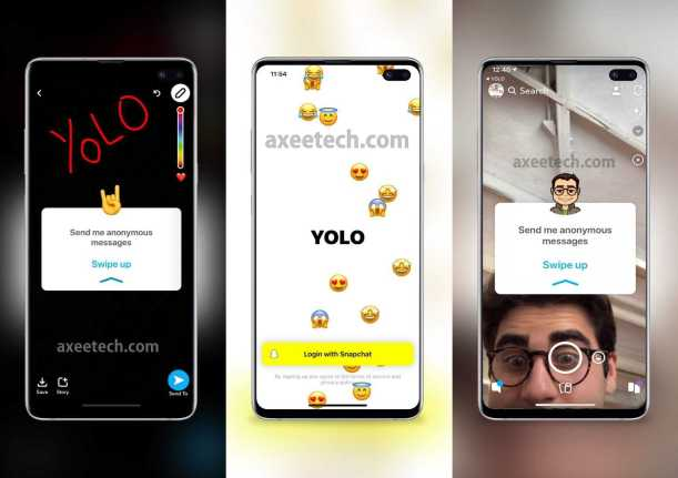 How to Do Yolo on Snapchat Android