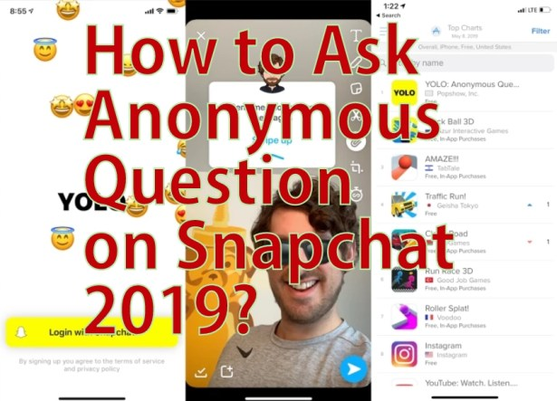 How to Ask Anonymous Question on Snapchat