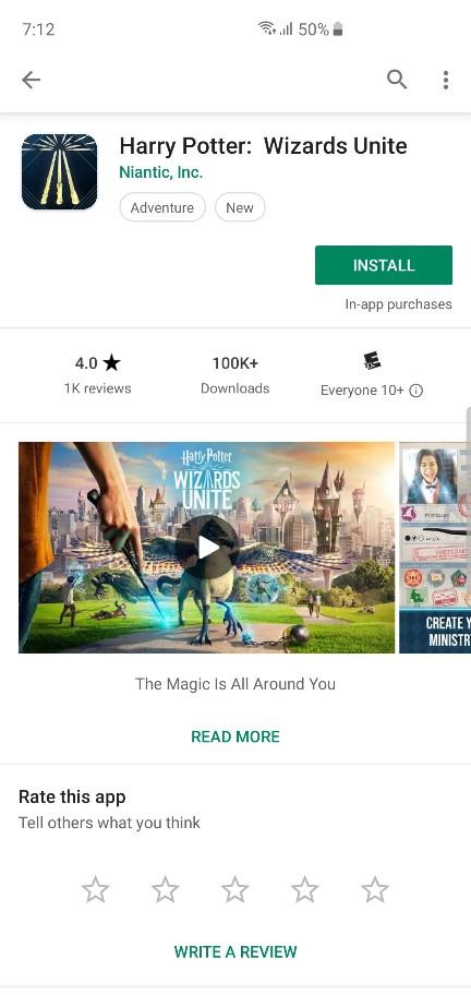 Wizards Unite Apk download