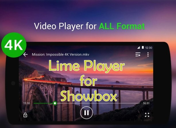 Lime Player for Showbox Apk 1.0.3 android
